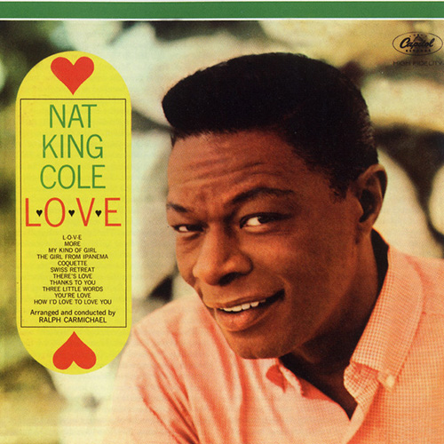 Nat King Cole, L-O-V-E, Real Book - Melody & Chords - C Instruments