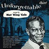 Download Nat King Cole Mona Lisa sheet music and printable PDF music notes