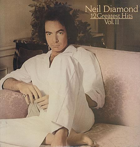 Neil Diamond, Love On The Rocks, Guitar with strumming patterns