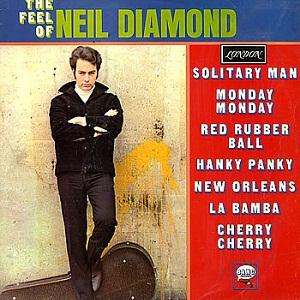 Neil Diamond, Solitary Man, Piano, Vocal & Guitar (Right-Hand Melody)