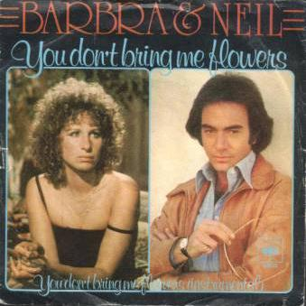 Neil Diamond & Barbra Streisand, You Don't Bring Me Flowers, Guitar with strumming patterns