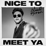 Download Niall Horan Nice To Meet Ya sheet music and printable PDF music notes