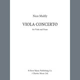 Download Nico Muhly Viola Concerto (Viola and Piano Reduction) sheet music and printable PDF music notes