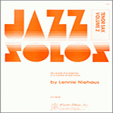 Download Niehaus 'Jazz Solos For Tenor Sax, Volume 2' printable sheet music notes, Unclassified chords, tabs PDF and learn this Woodwind Solo song in minutes