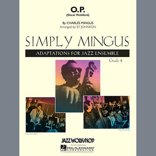 Sy Johnson, O.P. (Oscar Pettiford) - Bb Solo Sheet, Jazz Ensemble