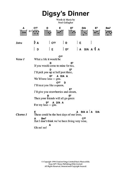 Digsy's Dinner sheet music