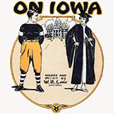 Download W.R. Law 'On Iowa' printable sheet music notes, Standards chords, tabs PDF and learn this Piano, Vocal & Guitar (Right-Hand Melody) song in minutes