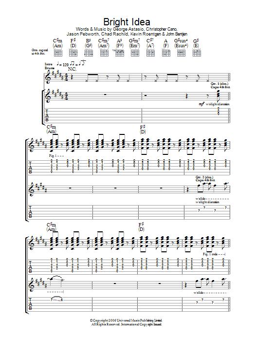 Bright Idea sheet music