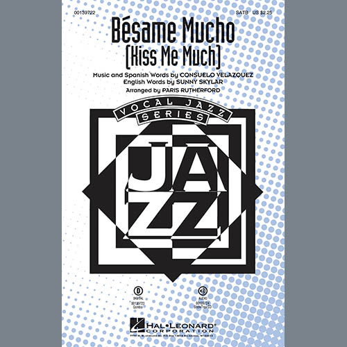 Paris Rutherford, Besame Mucho (Kiss Me Much) - Trombone, Choir Instrumental Pak