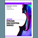 Download Timothy Isham 'Patriotic Salute (4 Patriotic Pieces) - 2nd Violin' printable sheet music notes, American chords, tabs PDF and learn this Orchestra song in minutes