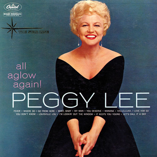 Peggy Lee, Fever, Piano, Vocal & Guitar (Right-Hand Melody)