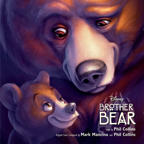 Phil Collins, No Way Out (from Brother Bear), Piano, Vocal & Guitar (Right-Hand Melody)