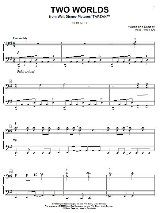 Two Worlds sheet music