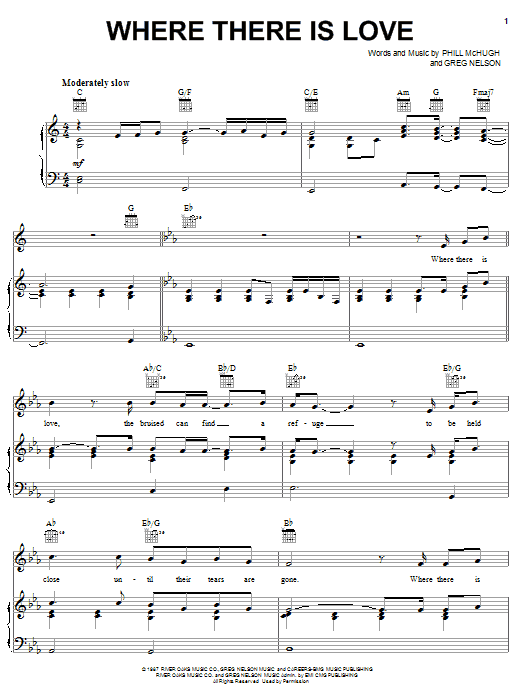 Where There Is Love sheet music