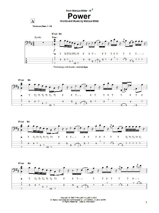 Power sheet music