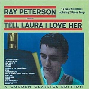 Ray Peterson, Tell Laura I Love Her, Piano, Vocal & Guitar (Right-Hand Melody)