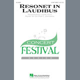 Download Victor C. Johnson Resonet In Laudibus sheet music and printable PDF music notes