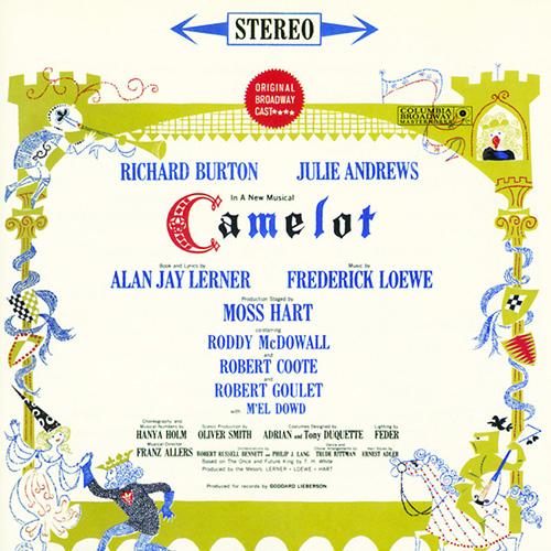 Richard Burton, Camelot, Piano, Vocal & Guitar (Right-Hand Melody)