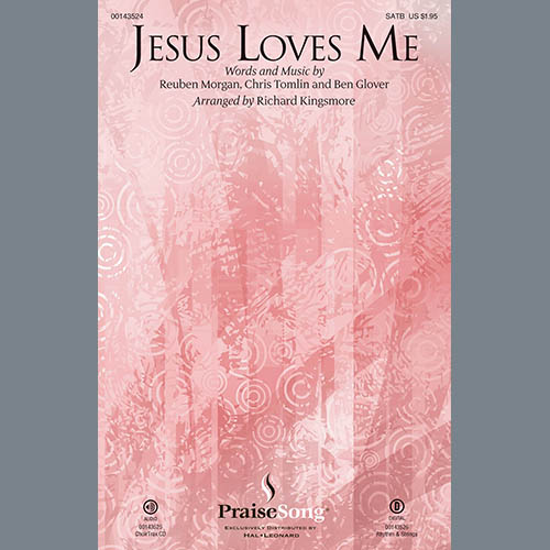 Richard Kingsmore, Jesus Loves Me - Harp, Choir Instrumental Pak
