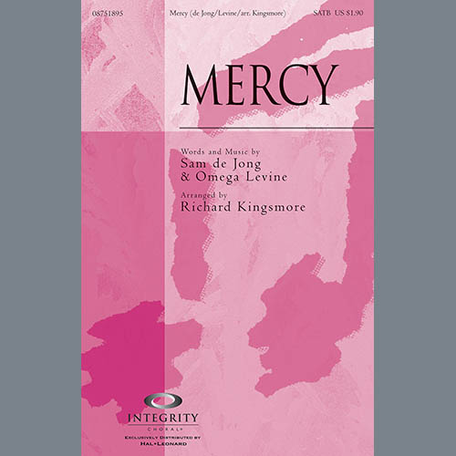 Mercy - Alto Sax (sub. Horn) sheet music