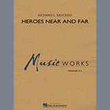 Download Richard L. Saucedo Heroes Near and Far - String Bass sheet music and printable PDF music notes