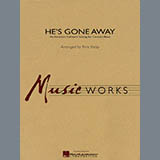 Download Rick Kirby He's Gone Away (An American Folktune Setting for Concert Band) - Baritone B.C. sheet music and printable PDF music notes