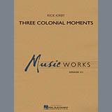 Download Rick Kirby Three Colonial Moments - Timpani sheet music and printable PDF music notes