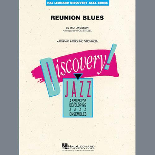 Rick Stitzel, Reunion Blues - Conductor Score (Full Score), Jazz Ensemble