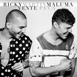 Download Ricky Martin Vente Pa' Ca (Feat. Maluma) sheet music and printable PDF music notes