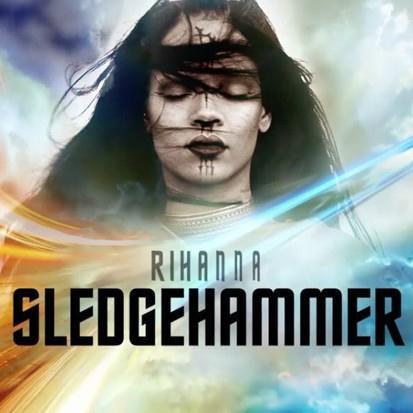 Rihanna, Sledgehammer, Piano, Vocal & Guitar (Right-Hand Melody)