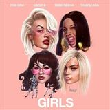Download Rita Ora 'Girls (featuring Cardi B, Bebe Rexha and Charli XCX)' printable sheet music notes, Pop chords, tabs PDF and learn this Piano, Vocal & Guitar (Right-Hand Melody) song in minutes