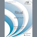 Download Joseph Turrin 'Ritual - Eb Alto Saxophone 1' printable sheet music notes, Contest chords, tabs PDF and learn this Concert Band song in minutes
