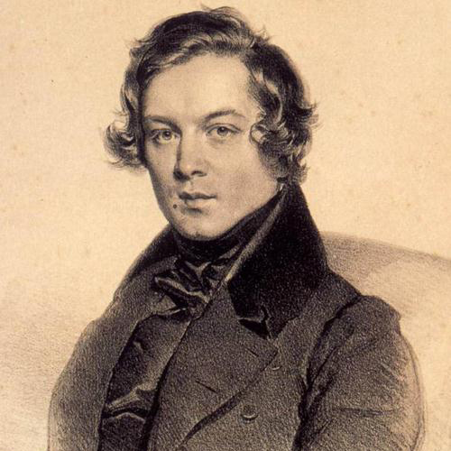 Robert Schumann, The Happy Farmer, Melody Line & Chords