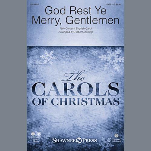 Robert Sterling, God Rest Ye Merry, Gentlemen - Double Bass, Choir Instrumental Pak