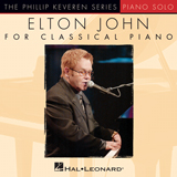 Download Elton John 'Rocket Man (I Think It's Gonna Be A Long Long Time) [Classical version] (arr. Phillip Keveren)' printable sheet music notes, Rock chords, tabs PDF and learn this Piano song in minutes