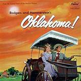 Download Rodgers & Hammerstein 'Oklahoma (from Oklahoma!)' printable sheet music notes, Broadway chords, tabs PDF and learn this Piano, Vocal & Guitar (Right-Hand Melody) song in minutes