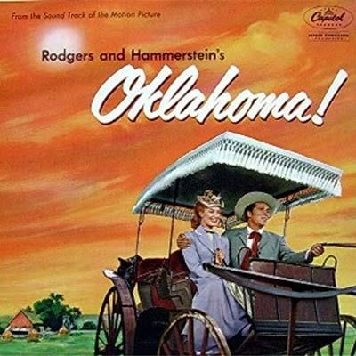 Rodgers & Hammerstein, The Surrey With The Fringe On Top (from Oklahoma!), Piano, Vocal & Guitar (Right-Hand Melody)