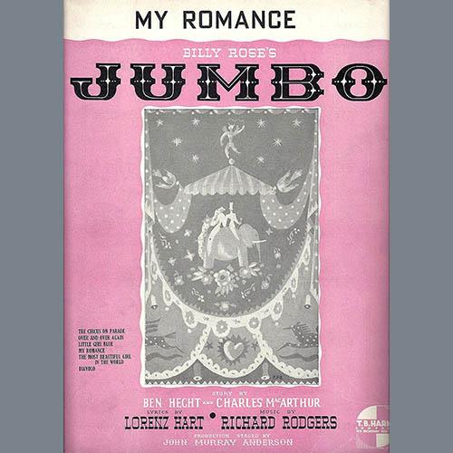 Rodgers & Hart, My Romance, Real Book - Melody, Lyrics & Chords - C Instruments