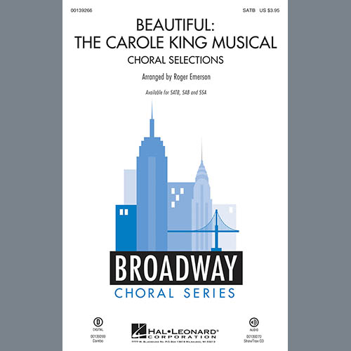 Roger Emerson, Beautiful: The Carole King Musical (Choral Selections) - Bass, Choir Instrumental Pak
