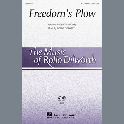 Rollo Dilworth, Freedom's Plow - Flute, Choir Instrumental Pak