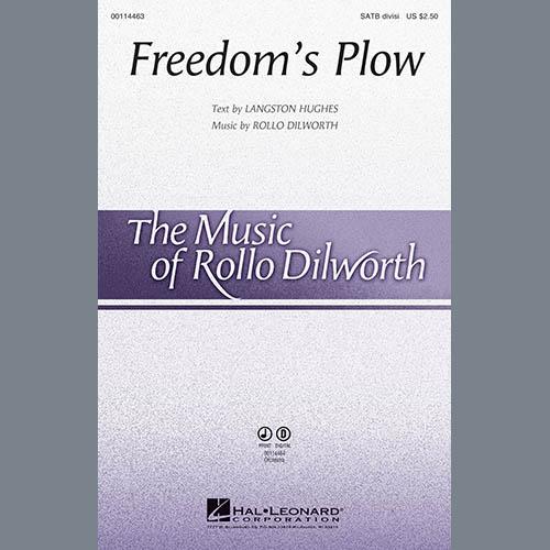Rollo Dilworth, Freedom's Plow - Violoncello, Choir Instrumental Pak