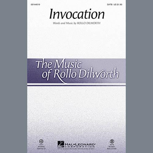 Rollo Dilworth, Invocation - Bass, Choir Instrumental Pak
