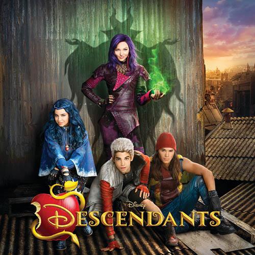 Dove Cameron, Cameron Boyce, Booboo Stewart & Sofia Carson, Rotten To The Core (from Disney's Descendants), Easy Piano