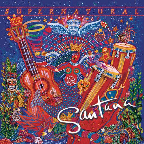 Santana, Love Of My Life (feat. Dave Matthews), Piano, Vocal & Guitar (Right-Hand Melody)