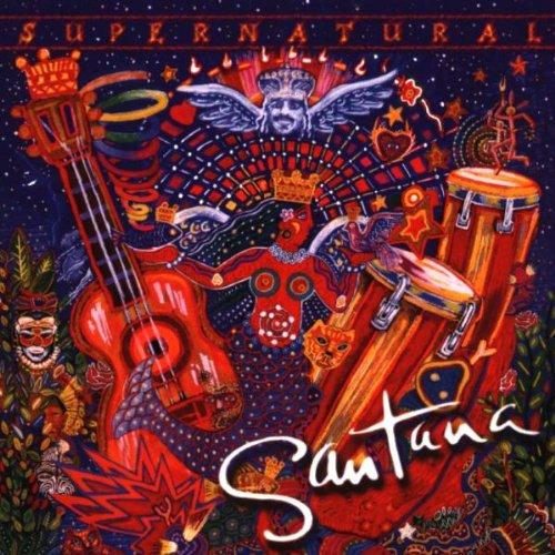 Santana featuring The Product G&B, Maria Maria, Piano, Vocal & Guitar (Right-Hand Melody)