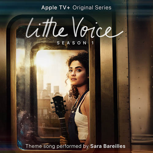 Sara Bareilles, Little Voice (from the Apple TV+ Series: Little Voice), Piano, Vocal & Guitar (Right-Hand Melody)