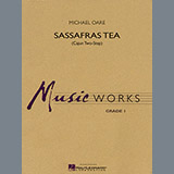 Download Michael Oare 'Sassafras Tea (Cajun Two-Step) - Bb Tenor Saxophone' printable sheet music notes, Cajun chords, tabs PDF and learn this Concert Band song in minutes