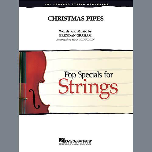 Sean O'Loughlin, Christmas Pipes - Conductor Score (Full Score), Orchestra