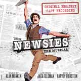 Download Alan Menken Seize The Day (from Newsies) sheet music and printable PDF music notes
