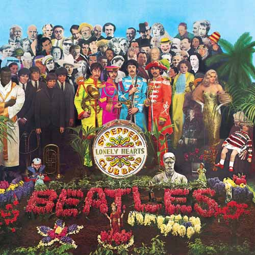 The Beatles, Sgt. Pepper's Lonely Hearts Club Band, Melody Line, Lyrics & Chords